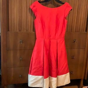 Kate Spade Cocktail Dress size 0 Adette Dress Red